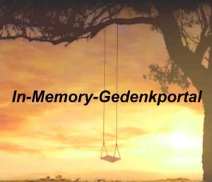 Unser Gedenkportal - In Memory